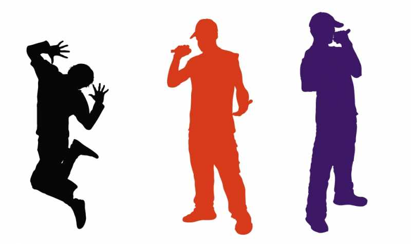 255-silhouette-hip-hop