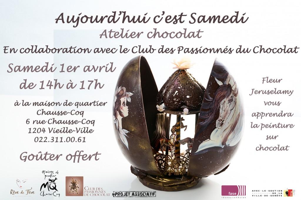 Flyer chocolat