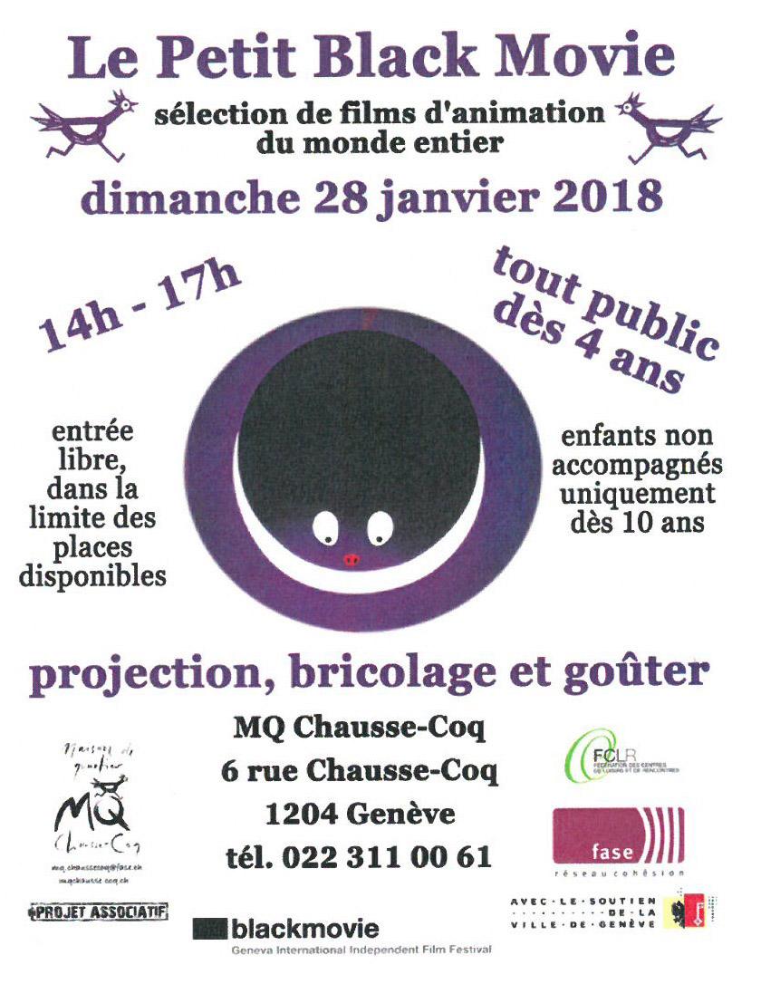 Festival du petit black movie maison de quartier chausse coq - Chausse et vous ...