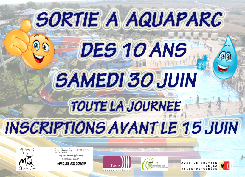 Promo aquaparc2018